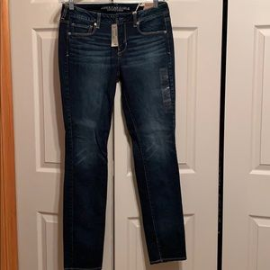 NWT size 10 long skinny jeans from American Eagle
